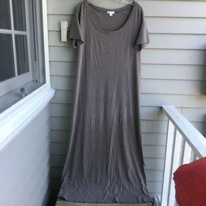 GARNET HILL Maxi T-Shirt Dress Sz.14